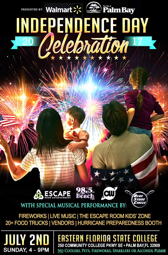 VIDEO Walmart, City of Palm Bay To Presents Free Independence Day