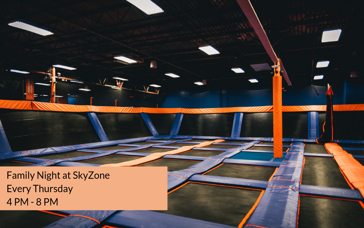 Skyzone Zwembad Family Night At Skyzone - Space Coast Living Magazine