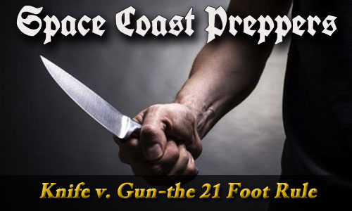 Knife v. Gun–changing how you think about the 21-foot rule (VIDEO)