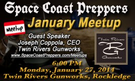 January 27th Meetup Announced- Twin Rivers Gunworks