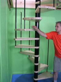Do It Yourself(DIY) Spiral Stairs - Phoenix Spiral Stairs Kit