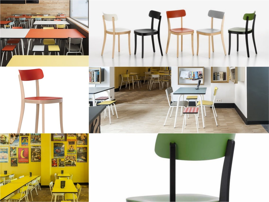 Backstay Hostel One Chair Four Ways To Style Basel Wood Chair Spaceist