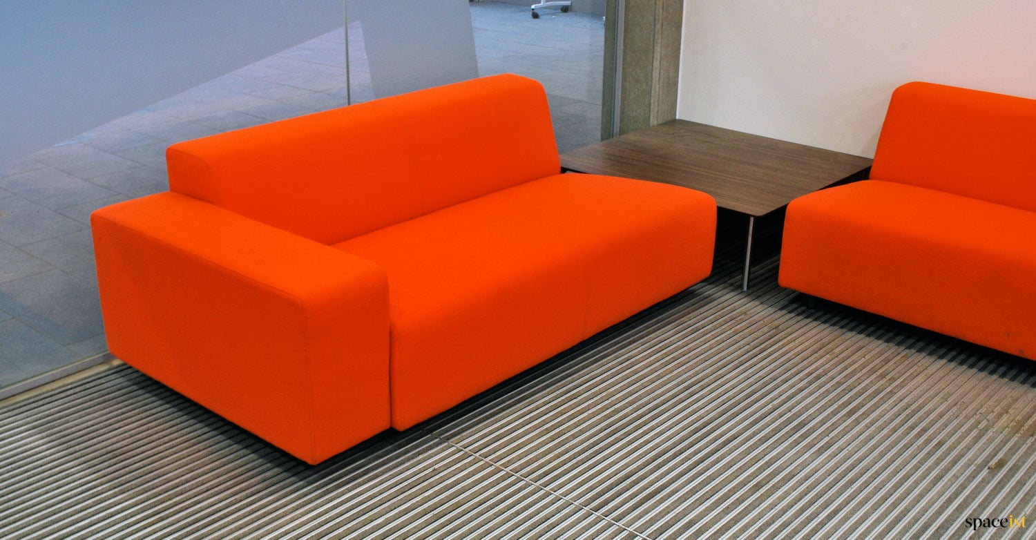 Modular Sofa Uxbridge Recent Project Bishop Ramsey School Canteen Tables Benches And