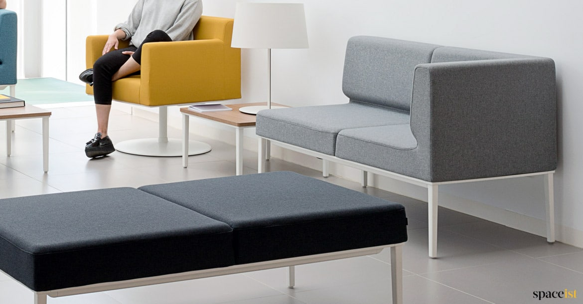 Modular Sofas Longi Compact Sofa Spaceist Reception Furntiure - Divano Office Sofa