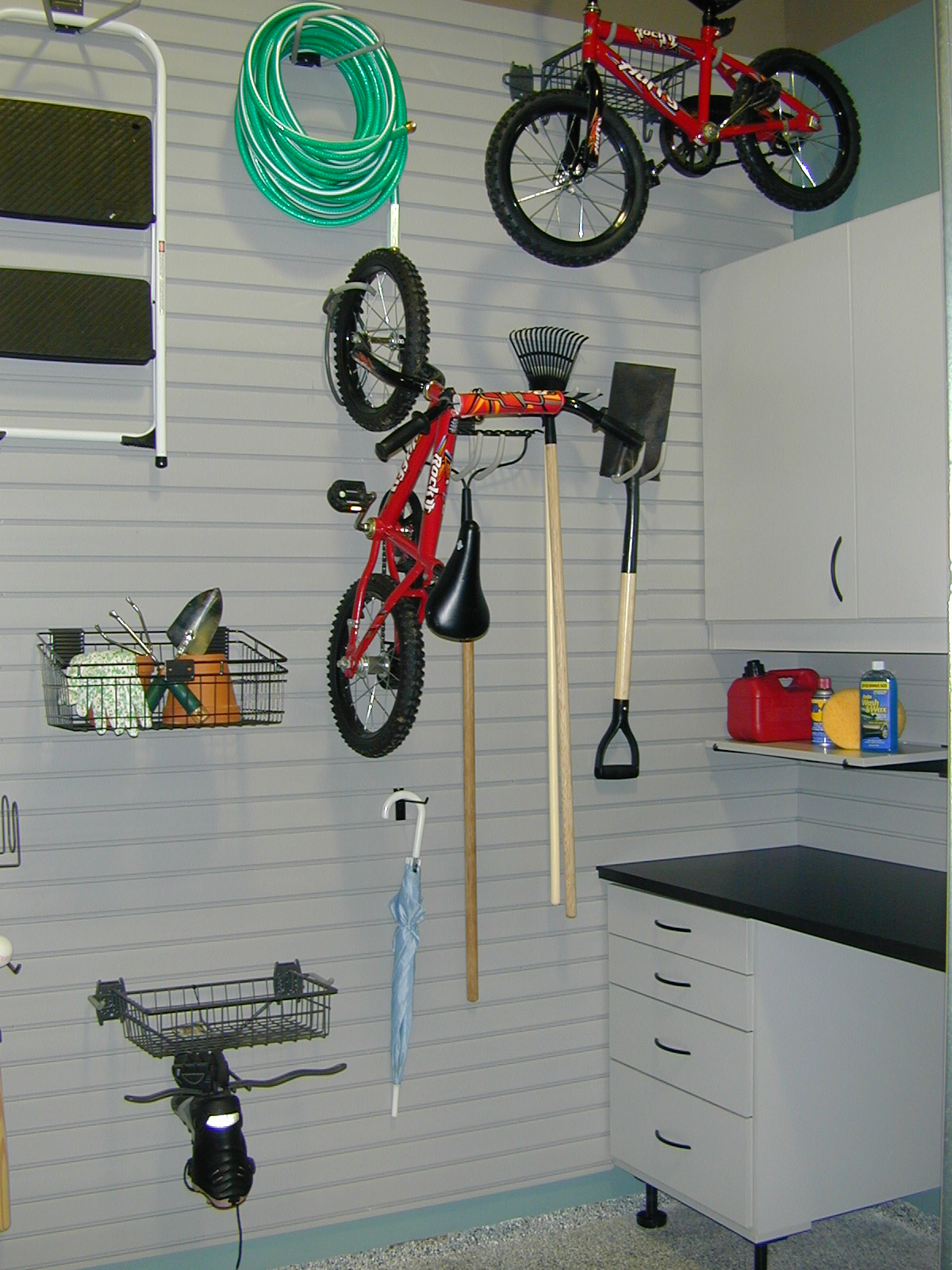 Motocross Garage Accessories Custom Garage Storage Cabinet Systems In Houston Spacemanager