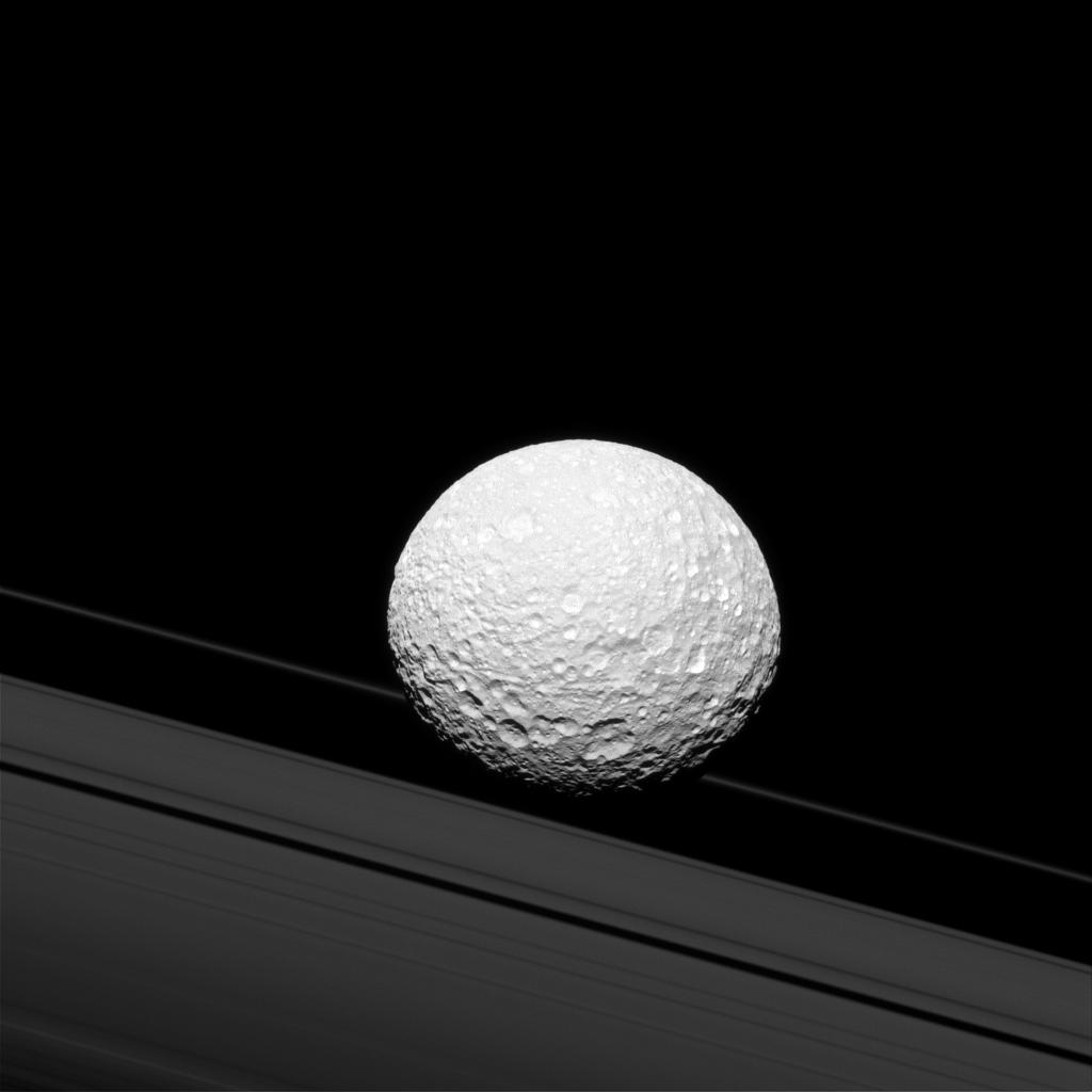 Mimas Moon Fun Facts Mimas Cool Facts About The Death Star Moon Spaceopedia