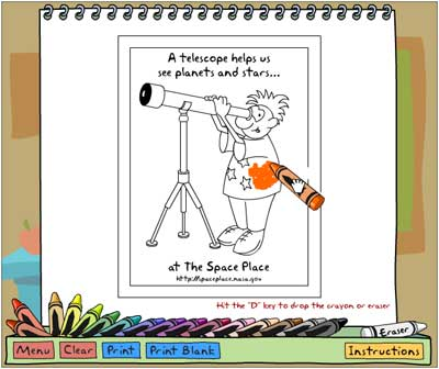 Coloring Book NASA Space Place \u2013 NASA Science for Kids