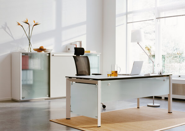 Picture of Steelcase FrameOne Office Desk