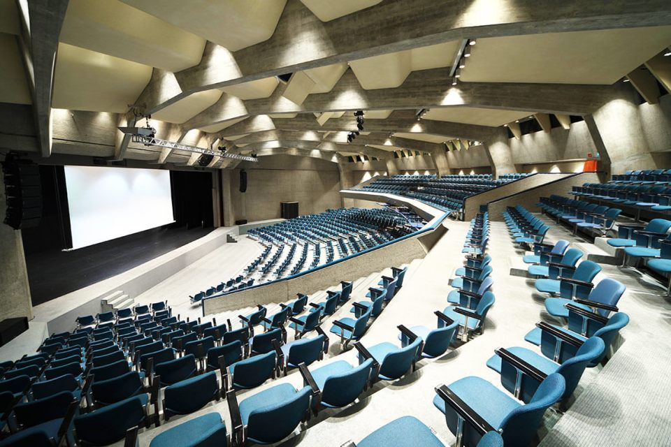 Image of Professional Theatre AV installation London