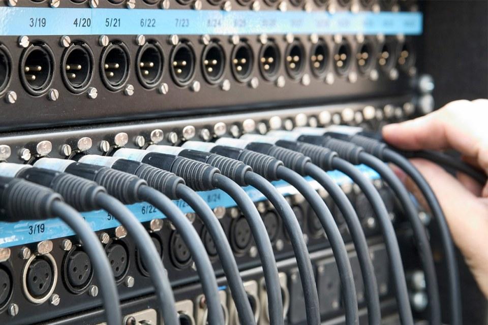 Image of AV patch panel