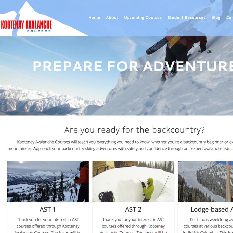 Kootenay Avalanche Courses