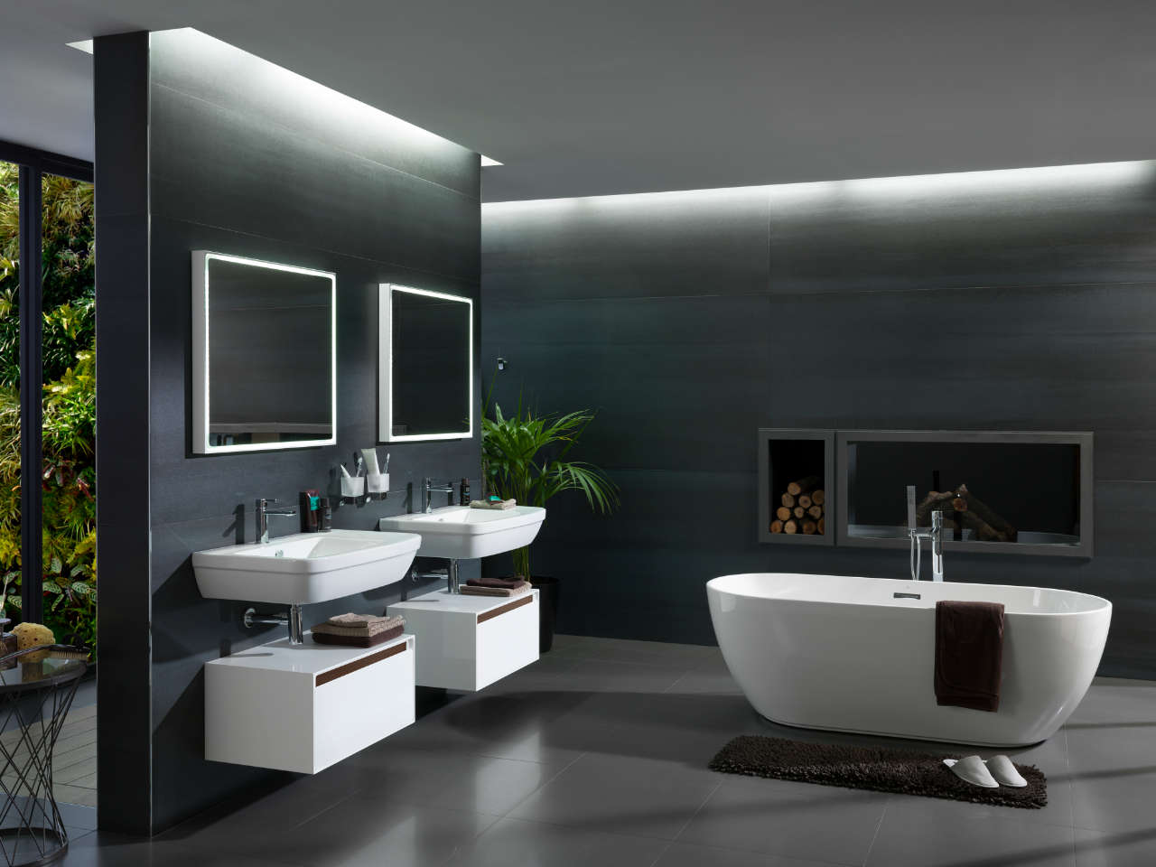 Baño Porcelanosa Porcelanosa Bathrooms Spacers Showrooms