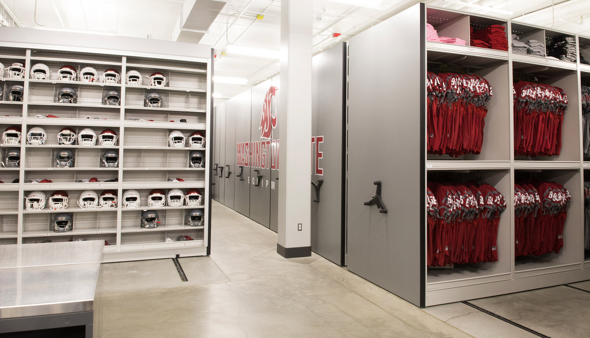 Storage Room Football Equipment Room Storage Ideas