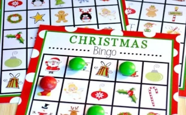 7 Free Printable Christmas Games for Your Holiday Party - Spaceships