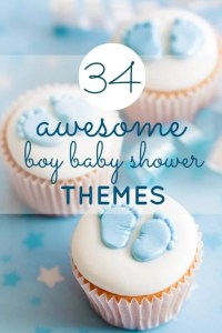 34 Awesome Boy Baby Shower Themes | Spaceships and Laser Beams