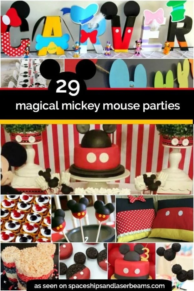 29 Magical Mickey Mouse Party Ideas Spaceships and Laser Beams - mickey mouse boy birthday party ideas