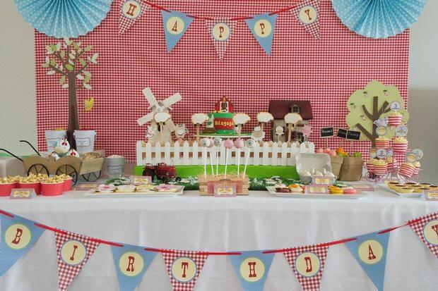 41 Farm Themed Birthday Party Ideas - Spaceships and Laser Beams - birthday party design