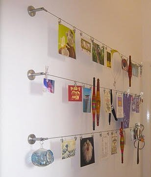 5 easy way to display your kids 39 art - Simple ways of keeping your home organized using magnetic picture frames ...