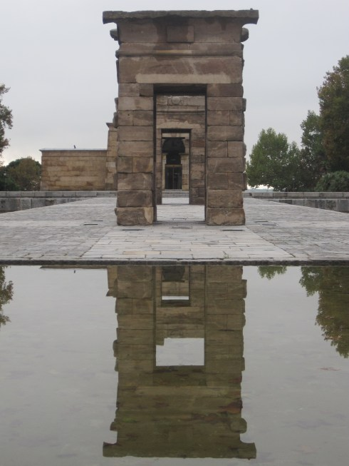 Egyptian, Temple, Madrid