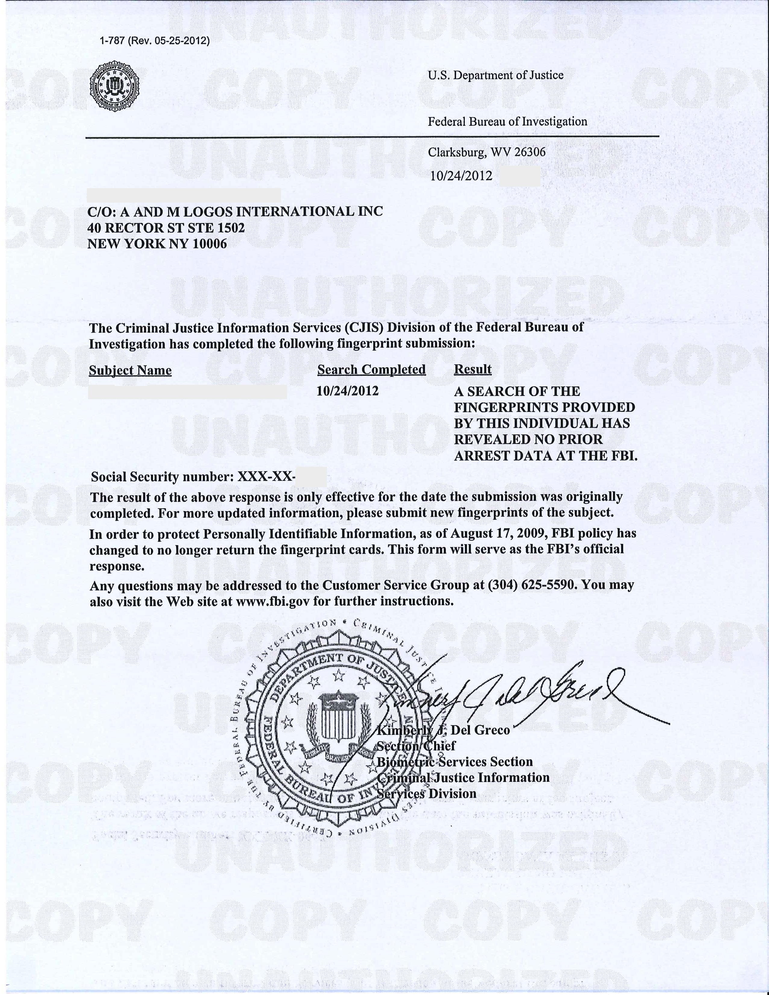Fbi Resume | Resume CV Cover Letter