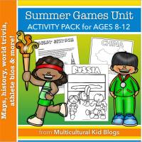 Review:  Summer Games Unit Study MKB