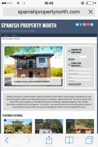 Home page full site version