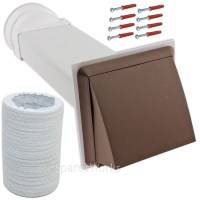 UNIVERSAL Tumble Dryer Venting Kit Vent External Wall ...