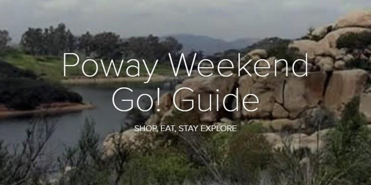 Poway Weekend Go! Guide