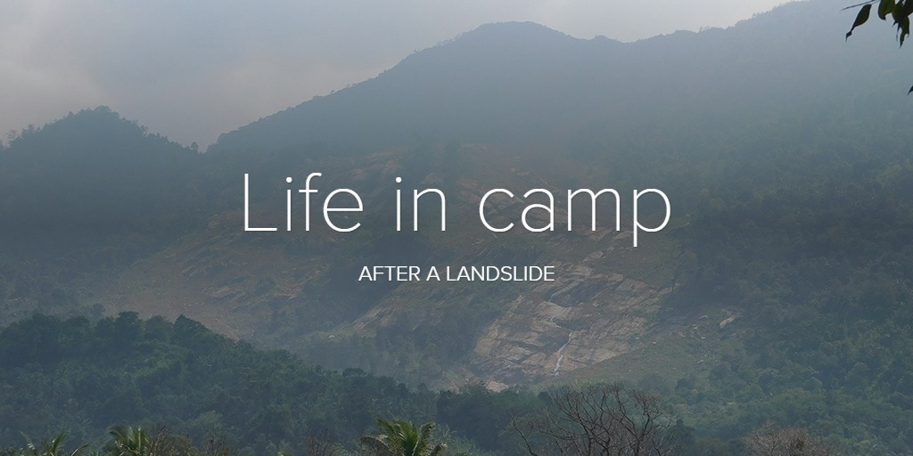 Life in camp