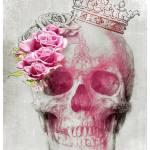 skulls + flowers