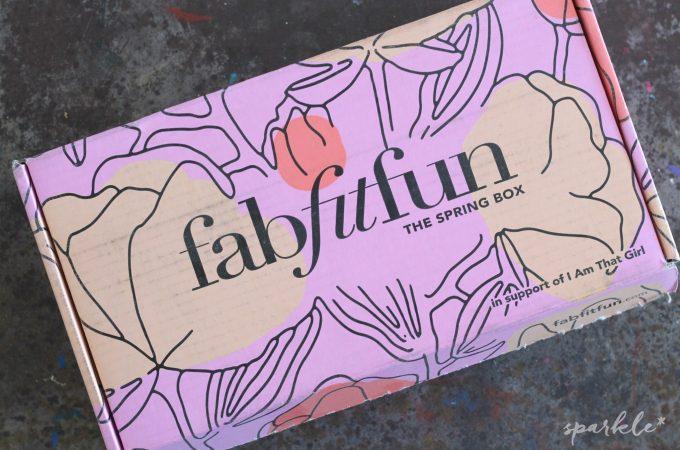 Saturday Swag – FabFitFun Spring 2016 Box Review
