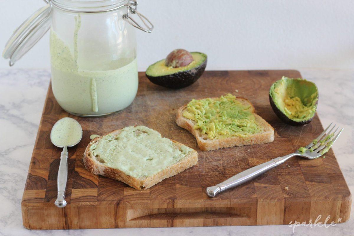 Basil Green Goddess Dressing Recipe — Dishmaps