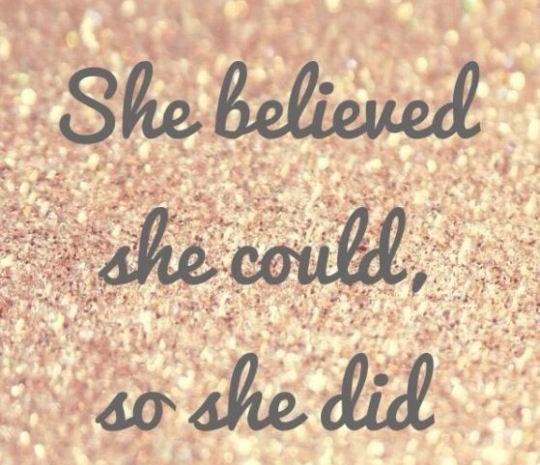 Gossip Girl Quote Wallpapers Sparkle She Believed She Could So She Did