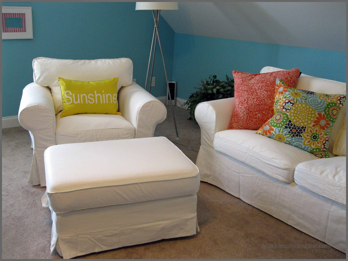 Ektorp Slipcovers Ikea White Slipcovers Ektorp Sparkles Of Sunshine