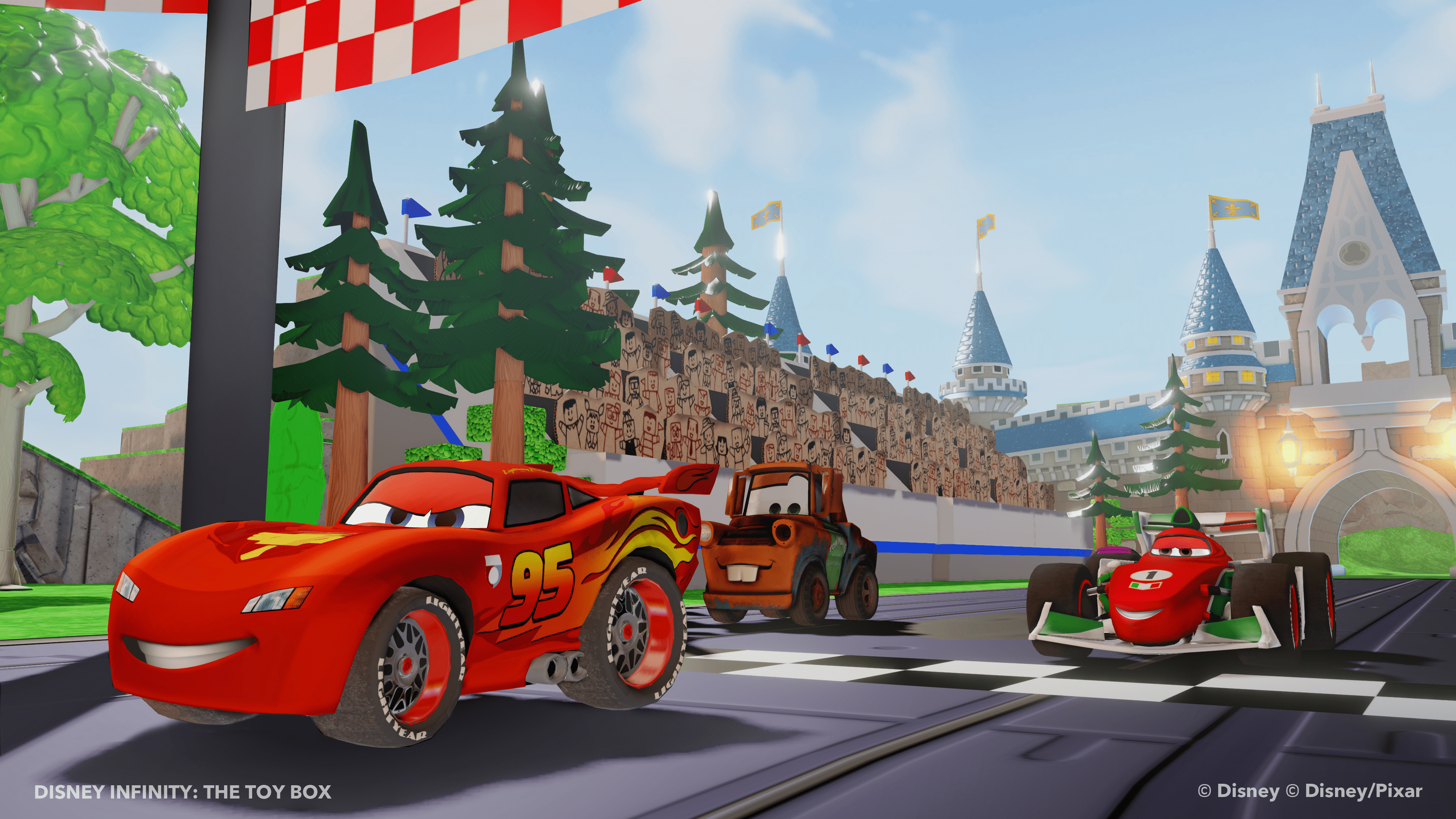 Toy Cars Wallpapers Disney Infinity Cars Play Set Sparklyeverafter Com