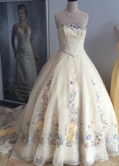 Alfred Angelo Cinderella Wedding Dress 2015 ...