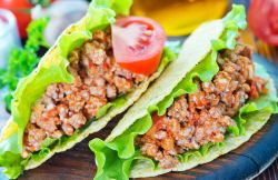 Phantasy Easy Ground Turkey Tacos Recipe Sparkrecipes Ground Turkey Tacos Black Beans Ground Turkey Tacos Recipe Healthy Quick