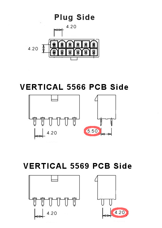ATX (and PCI-E) Power Supply Connector Guide
