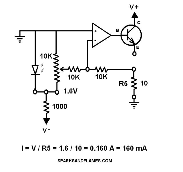 adjustable current limiting circuit