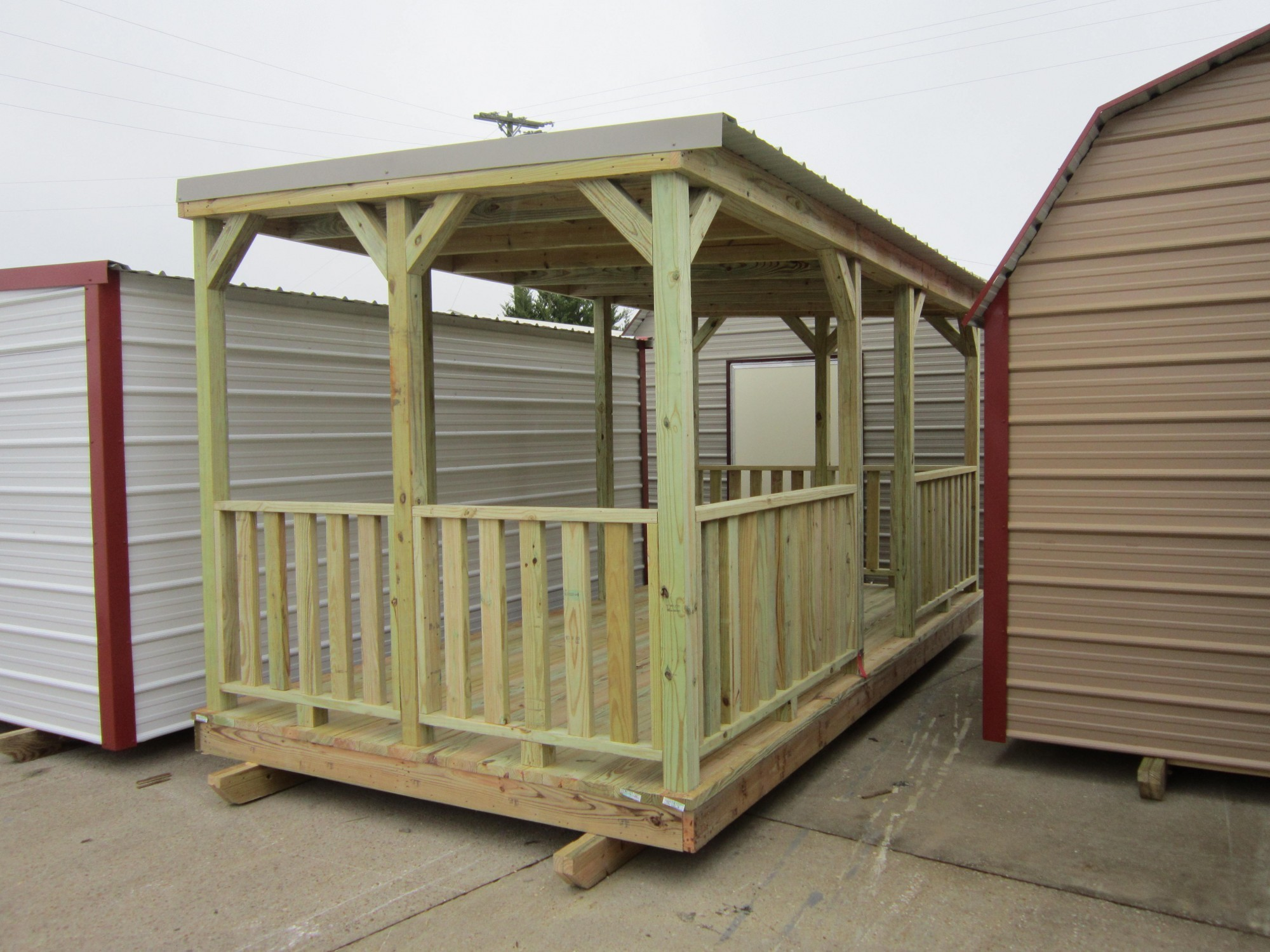 Portable Deck Portable Decks Spartan Structures