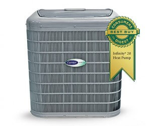 We carry Carrier brand air conditioners for Augusta and Grovetown, but we service and repair all makes and models!