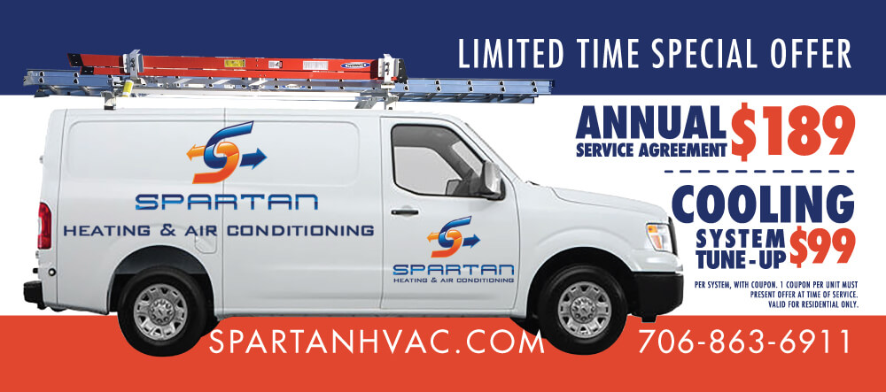 Spartan HVAC Coupon