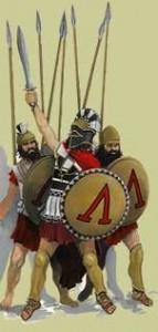 Phalanx soldiers