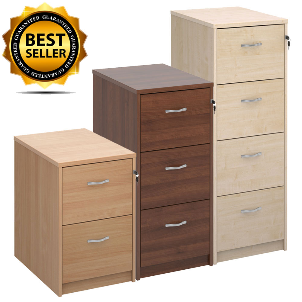 Active Deluxe Executive Filing Cabinet