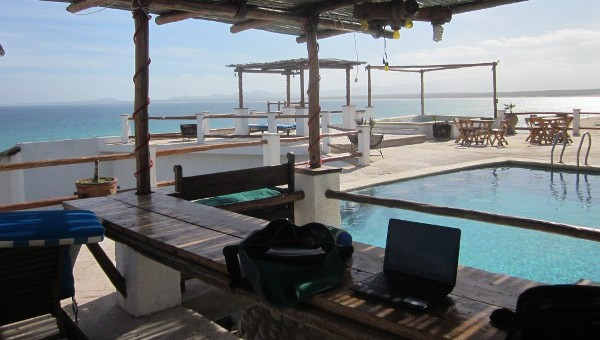 'Office' in La Ventana, Baja Mexico
