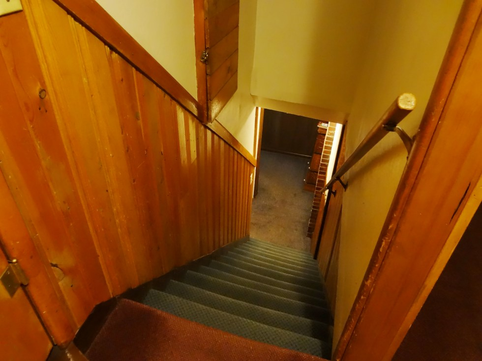 THE stairs at the Timberhouse