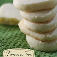 Lemon Tea Cookie Recipe
