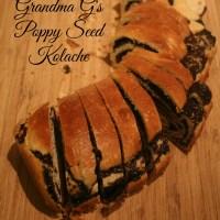 Grandma G's Kolache - Take 2!