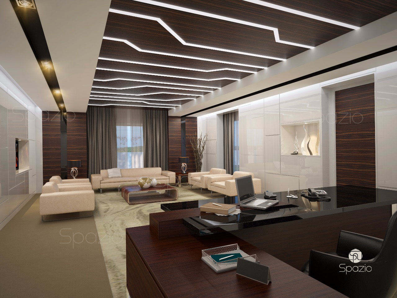 Modern Office Design Leading Office Interior Design Companies In Dubai Spazio