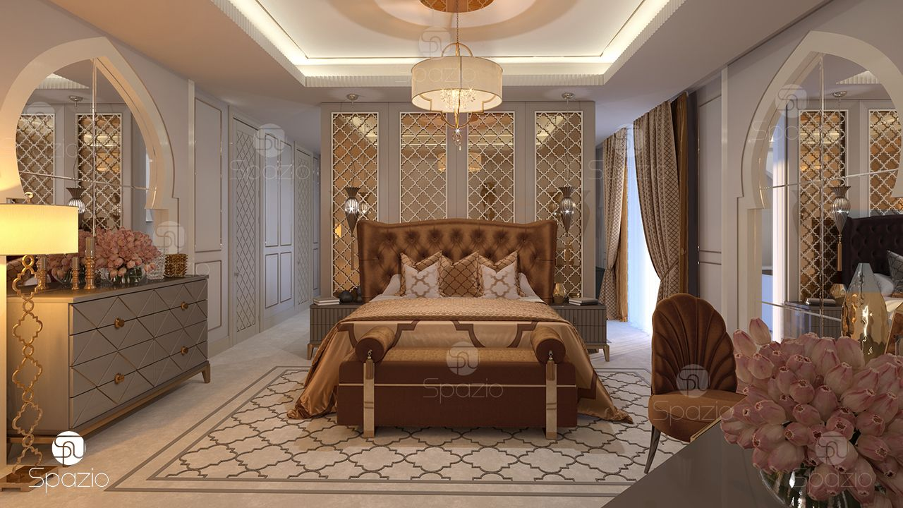 Home Design Bedroom Luxury Master Bedroom Interior Design In Dubai 2019 Spazio